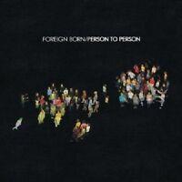 Foreign Born - Person To Person  CD ALTERNATIVE ROCK POP Neuware