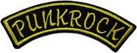 Punkrock [Aufnäher][gestickt] Punk