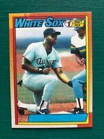 1990 Topps Frank Thomas No Name on Front NNOF Error Reprint Rookie Baseball Card