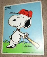 Vintage Wooden Puzzle, Snoopy Come Home