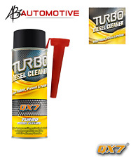 Qx7 Turbo Diesel Limpiador Tratamiento & Libre Par De Guantes aditivos (Qx7)