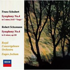 EUGEN JOCHUM-SCHUBERT & SCHUBERT: SYMPHONY NO.4-JAPAN CD Ltd/Ed C00