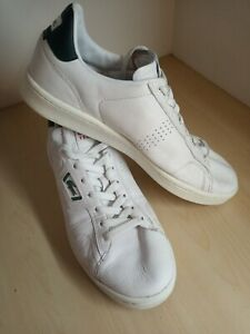 Mens Lacoste Masters Classic White Leather Trainers UK 8 EU 42