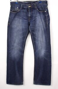 Mustang Hommes Neuf Oregon Jeans Jambe Droite Taille 50 (W35 L34) BCZ863