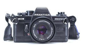Praktica BCS Carl Zeiss Lens Pentacon MC 50mm 2.4    (Réf#C-458)