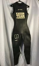 Orca S1 Triathlon Speedsuit Sleeveless Wetsuit Women's Small With Team Logo