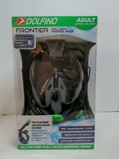 Dolfino Frontier All-in-one Full Face Snorkel Mask Adult(Large/X-Large)