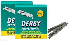 200 Blades Single Edge Derby Extra Super Stainless Razor Blades