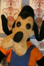 Vintage Schuco Bigo Bello Goofy from Walt Disney, Vintage Mohair Goofy Toy 50's