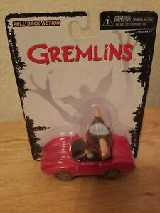 Neca Gremlins Pull Back Action Toy Gizmo In Red Corvette. Shipping is Free