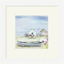 Hannah Cole Framed Print, Trip To The Beach, White, Light wood or Black Frame