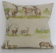 "Voyage Moorland Stag Deer 16"" Cushion Cover"