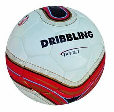 Soccer ball DRIBBLING TARGET - Size 5 - Quality 4 Layers PU - Competition -WHITE