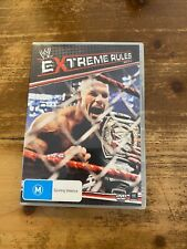 WWE EXTREME RULES 2011 DVD EXCELLENT CONDITION WRESTLING ACTION