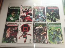 Green Lantern comic book lot of 35 +hard back and novel please see pics