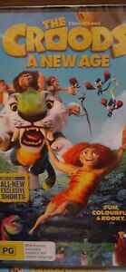 THE CROODS - A NEW AGE - DVD 2021 - BRAND NEW -  REGION 4 - $11
