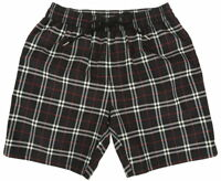 NEW BURBERRY BLUE CHECK DRAWCORD SWIM SHORTS BEACH TRUNKS S SMALL