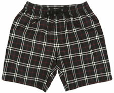 NEW BURBERRY BLUE CHECK DRAWCORD SWIM SHORTS BEACH TRUNKS M MEDIUM