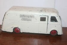 VINTAGE 1930'S MARX CLOVERDALE FARMS DELIVERY TRUCK