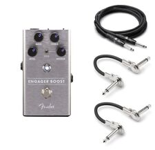 New Fender Engager Boost Guitar Pedal! FREE Hosa Cables!