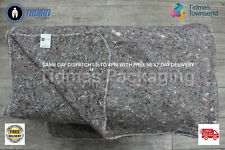 More details for 10 x 200cm x 150cm premium removal blankets furniture moving packing transit
