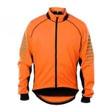 Pitbull Soft Shel Reflex Windjacke Neon orange Signal Jacke Gr: M