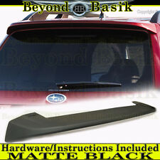 2009 2010 2011 2012 2013 Subaru FORESTER Wing Spoiler Factory Style MATTE BLACK