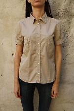 Marina Yachting Womens Casual Shirt Beige Cotton Explorer Indiana Jones L