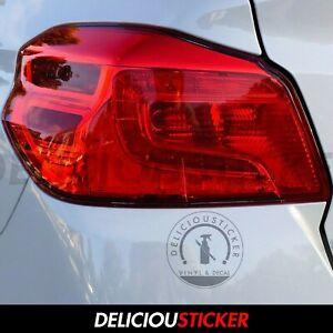 For 2015-2021 Subaru WRX RUBY RED Tail light Tint Overlays Vinyl Precut JDM STI