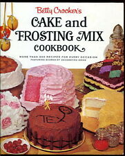 VINTAGE Betty Crocker CAKE & FROSTING COOKBOOK 1966 HC 1st Edition/1st Printing