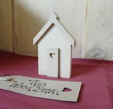 Free Standing Craft Shape. MDF Wooden 3d SINGLE BEACH HUTS