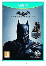 Batman Arkham Origins WII U CASTELLANO  NUEVO PRECINTADO ESPAÑOL