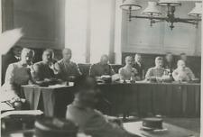 Le procès du Capitaine Sadoul Vintage silver Print Tirage argentique  12x17