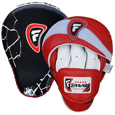 FOCUS PADS CURVO formazione Mitt Hook & Jab Kick Boxing, Muay Thai Pad Shield