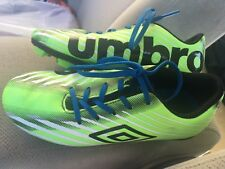 Umbro Glide Green Youth Size 1 Ball Cleats