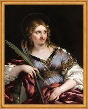 ST. Martina Pietro poiché Margherita Santa Sankt Bibbia finto abito erbe B a2 03135