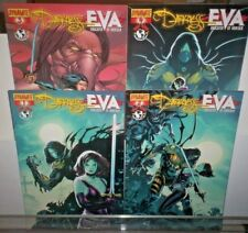Darkness Vs. Eva Daughter of Dracula #1 2 3 4 DYNAMITE COMICS 2008 NM 9.4 Unread