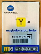 NIB Konica Minolta Magicolor 2300 Series Yellow Toner Unopened