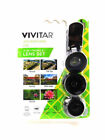 Vivitar 3-IN-1 Lens Compatible with iPhone & Android - NEW™