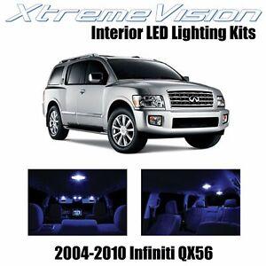XtremeVision Interior LED for Infiniti QX56 2004-2010 (13 PCS) Blue