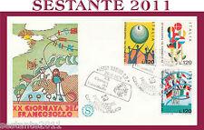 ITALIA FDC FILAGRANO 1978 GIORNATA DEL FRANCOBOLLO ANNULLO SPECIALE ROVIGO G805