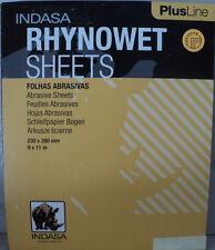 Indasa Rhynowet Plus  9x11  2000 Grit Wet/Dry Sandpaper  25 Sheets   # 1-2000