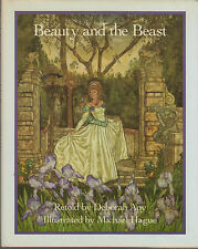 VG 1983 HC DJ Early Edition Michael Hague Beauty and the Beast Debarah Apy Great