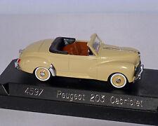 Peugeot 203 Cabriolet beige, SOLIDO, 1:43