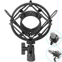 Black Metal Shock Mount w/Foam For MXL BM800 Condenser Studio Microphone USA