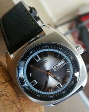 Seiko 7S26 Automatic Mens 44mm Watch - Stunning Dial