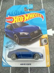 HOT WHEELS AUDI RS 5 COUPE BLUE HW TURBO DIECAST 1/64 BRAND