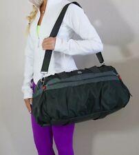 EUC Lululemon Gym To Win Yoga Gym Duffel Bag Gator Green