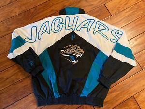 Vintage Jacksonville Jaguires Pro Player Light Weight Jacket 90's Medium