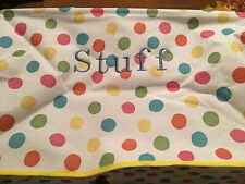 Polka dot Multifunctional Utility Tote Bag  stuff new in factory packaging